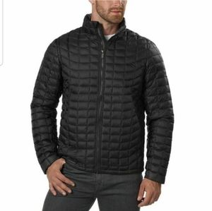 Mens Ben Sherman Quilted Puffer Zip Up Jacket